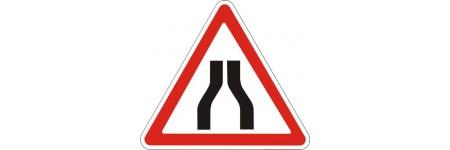 """Знак """"Звуження дороги з обох боків"""" 900мм 1.5.1"""