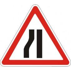 """Знак """"Звуження дороги"""" (з лівого боку) 700мм 1.5.3"""
