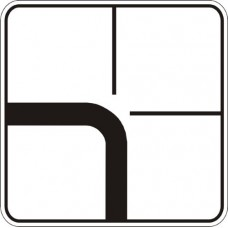 "Знак ""Напрямок головної дороги"" 7.8"