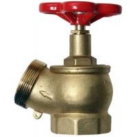 Кран пожежний ДУ-50 кутовий (125*) латуний (1,3кг)