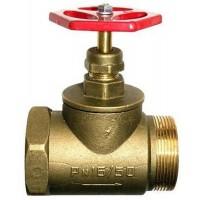 Кран пожежний ДУ-50 прямий латунний (1,2кг)