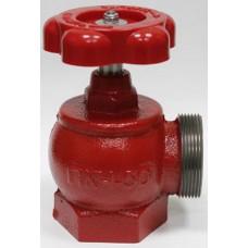 Кран пожежний ДУ-50 кутовий чавунний (1,6кг)