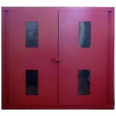 Шафа пожежна верхня СПЗ (червона) 1100х1000х300