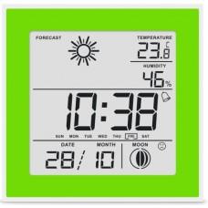 Термогігрометр цифровий з годинником Т-06 (0+50/20-95%)