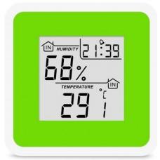 Термогігрометр цифровий з годинником Т-07 (0+50/20-95%)