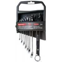 Набір ключів рожково-накидних 8 шт 6-19мм Cr-V.Berg **