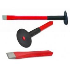 Зубило з гумовою ручкою d14мм, 250мм **