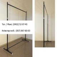 Стійка 1-а довжина -125 см, d-25 мм, сірий - металік, під флейти