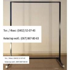 Стійка 1-а довжина -100 см, вис.- 130 см, d-25 мм, чорна