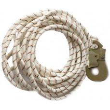 Фал рятувальний шнур 12м 12мм 1 карабін